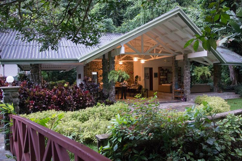 Canopy Lodge dinning/reception area, Panama
